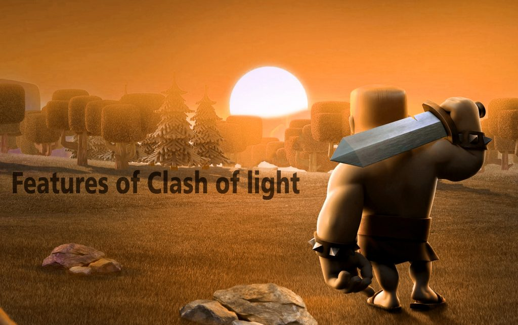 Features of Clash of light